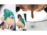 5カメトイレ盗撮 良いうんこと汚いおならの女達2 ずっと便が付いているヒクヒク肛門